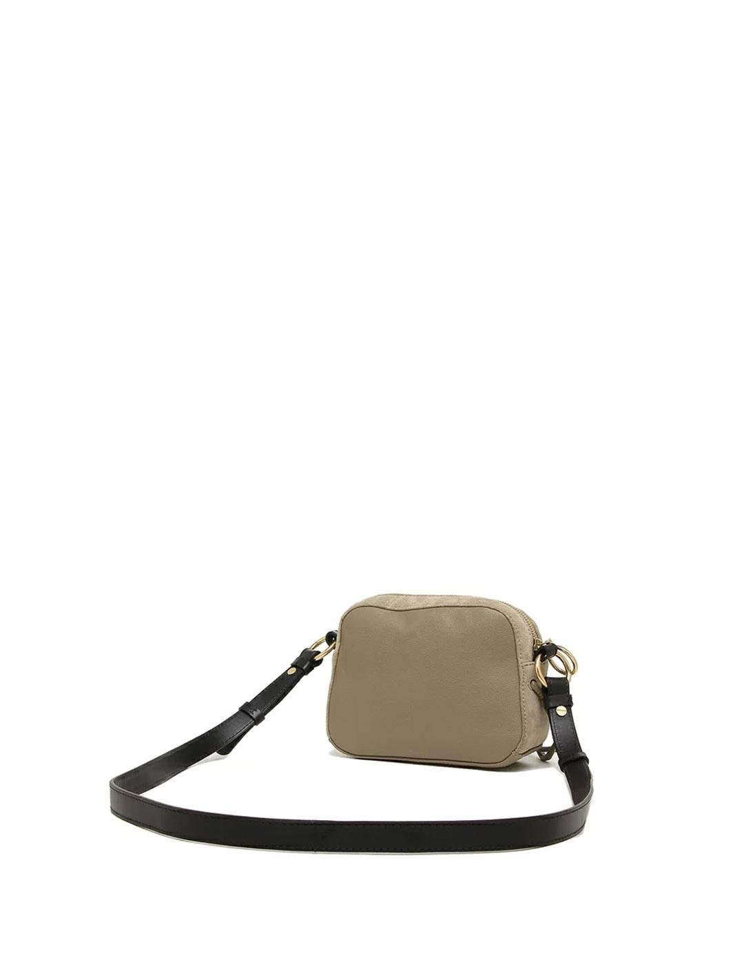 Bolso See by Chloé gris bandolera Motty Grey Shoulder Bag