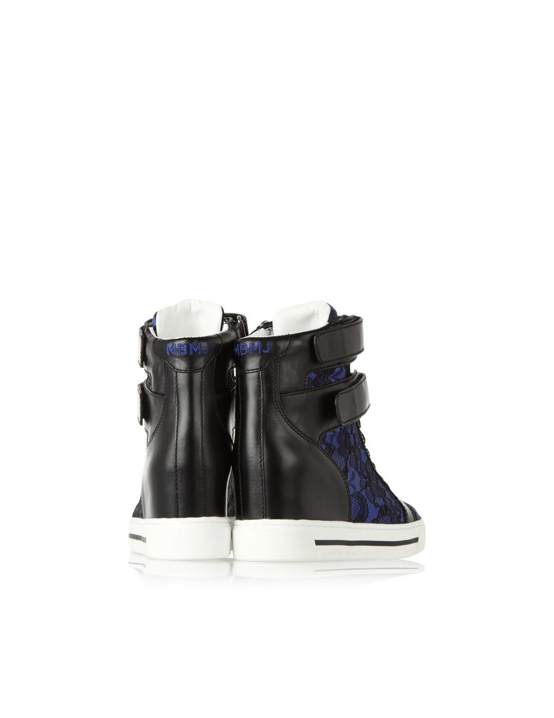 Sneakers Marc by Marc Jacobs azules cuero