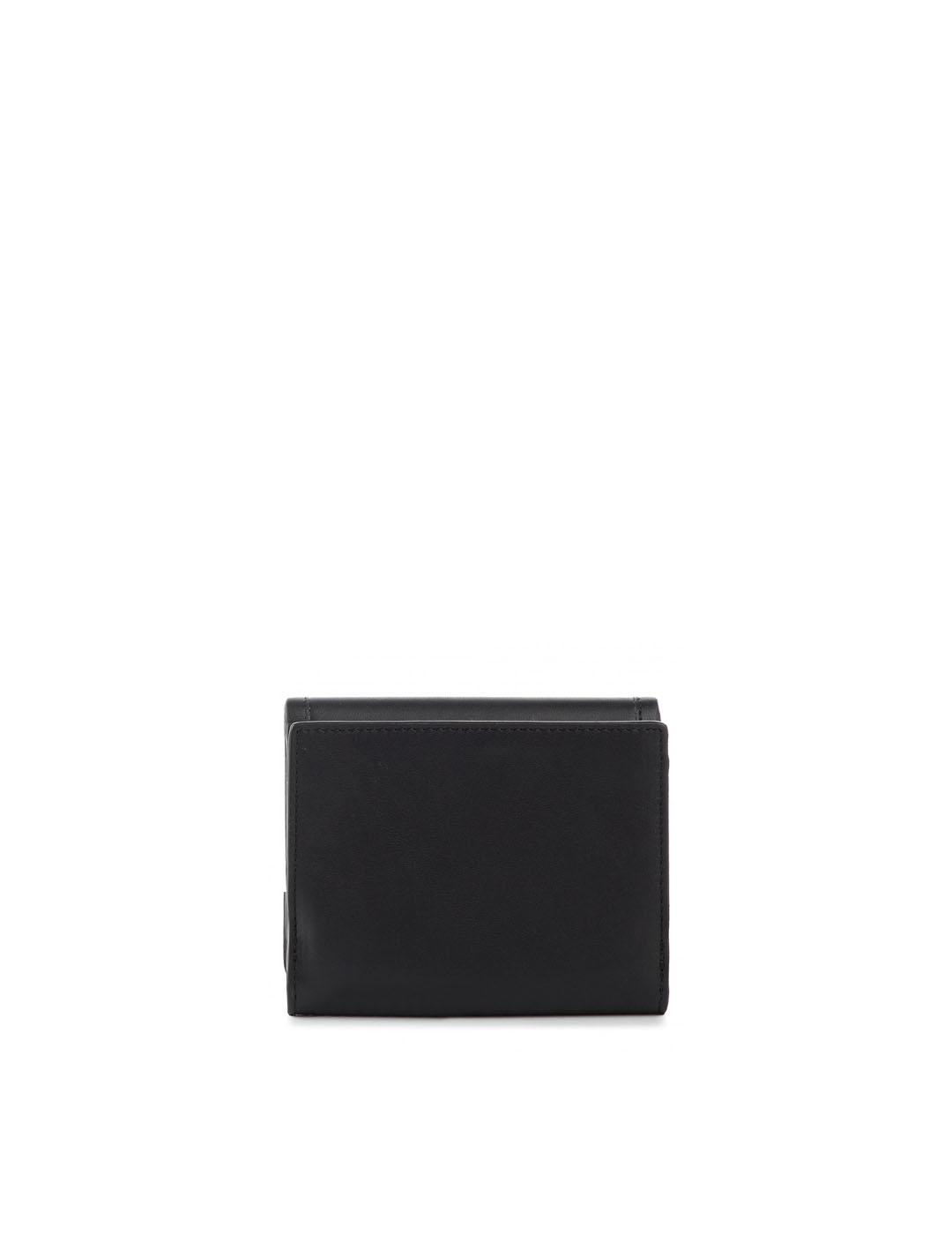 Cartera Karl Lagerfeld negra Medium Wallet K/Athleisure