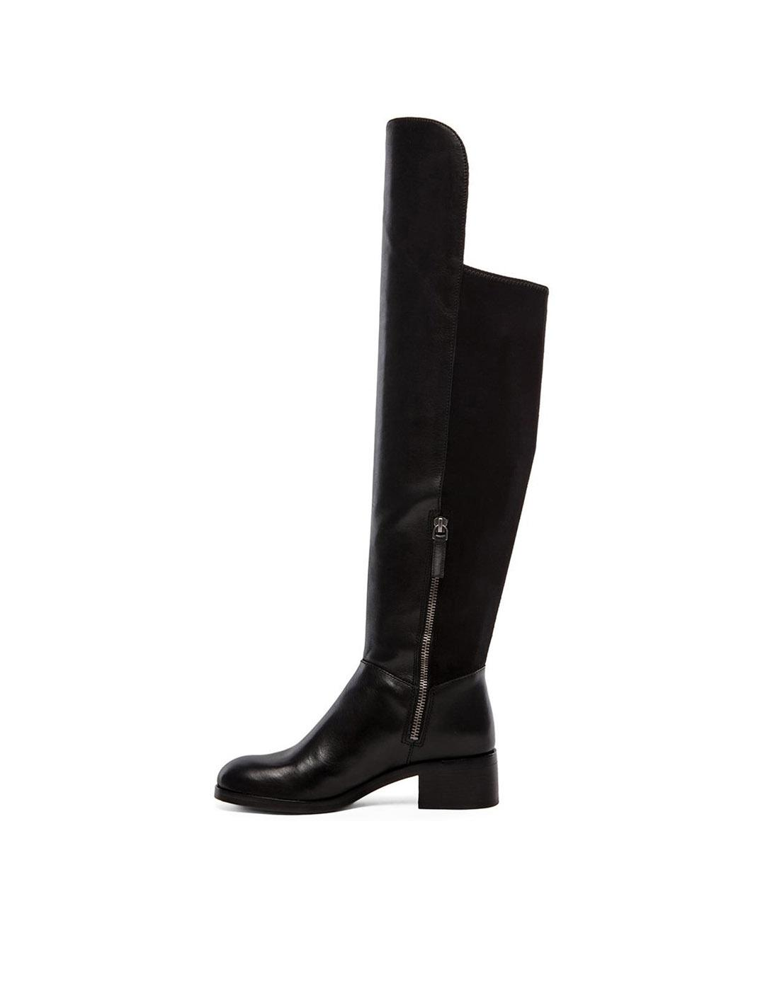 Botas altas Marc by Marc Jacobs negras Boot Up planas