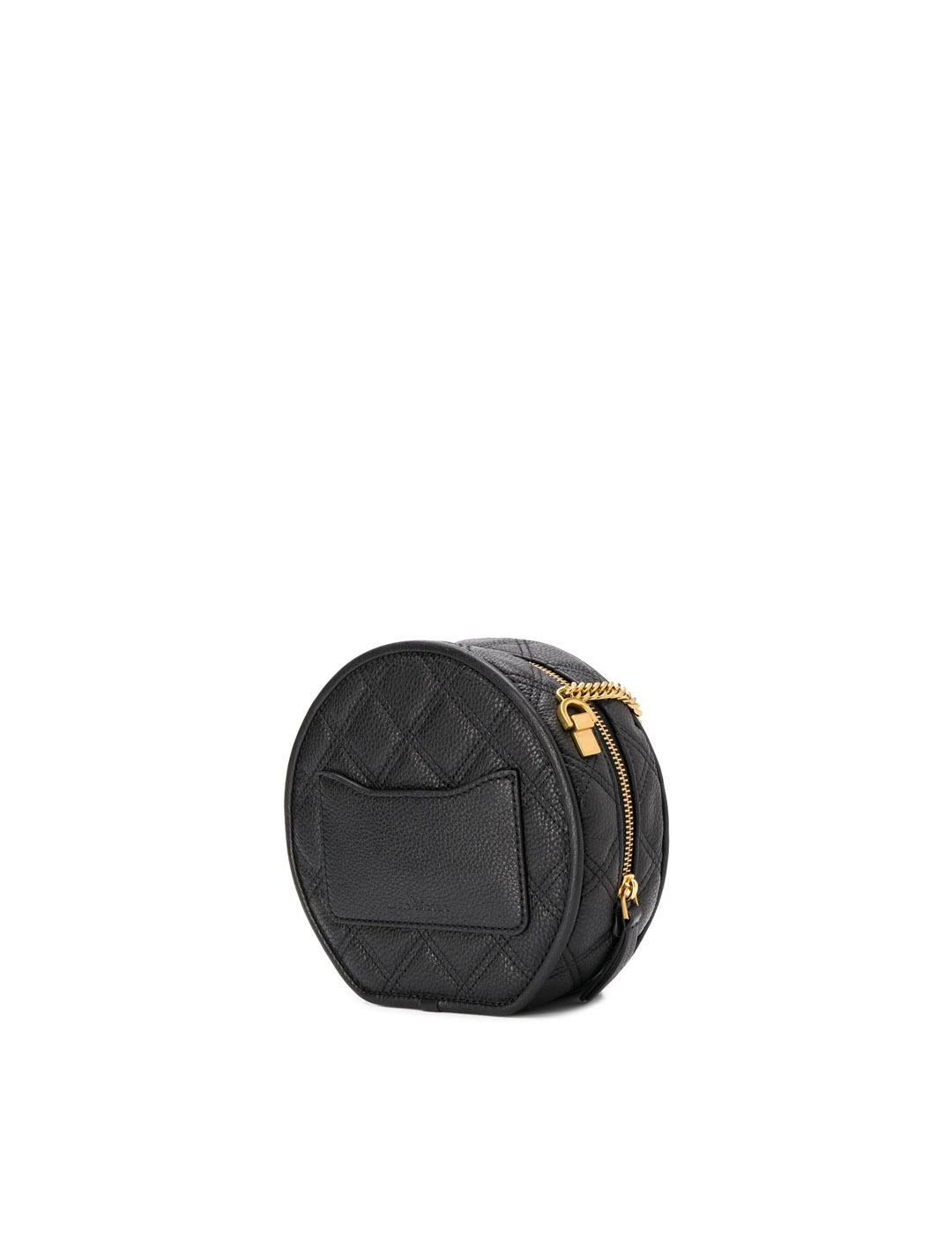 Bolso Marc Jacobs negro The status round crossbody bandolera