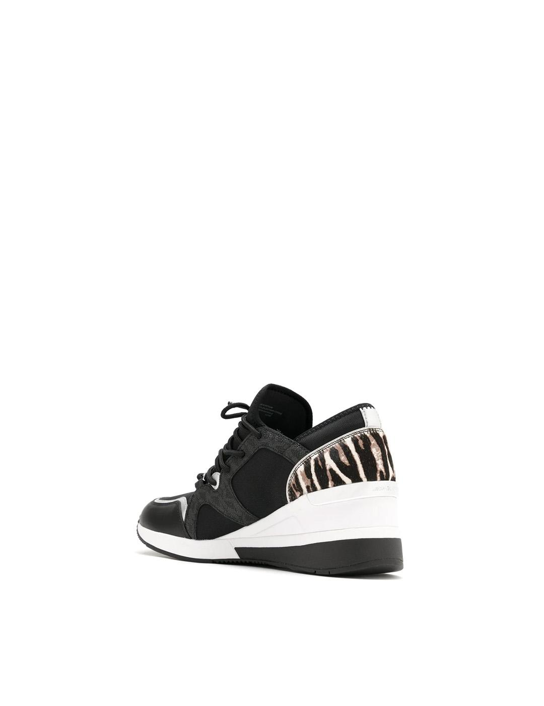 Sneakers Michael Kors negros Liv Trainer Canvas