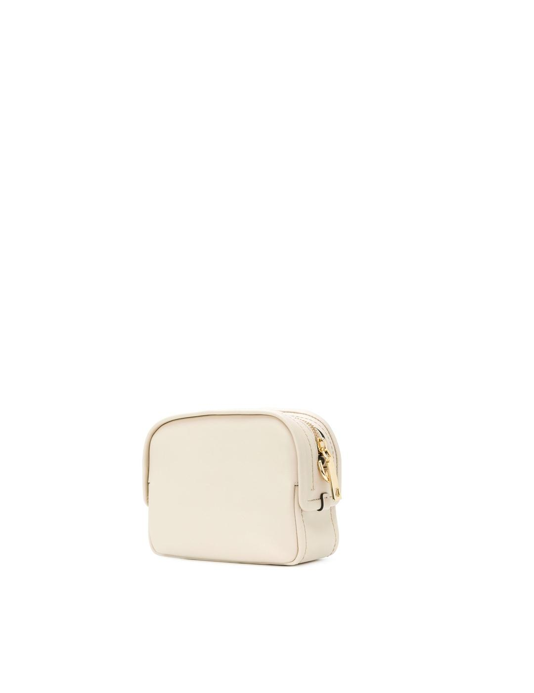 Bolso Marc Jacobs blanco The Mini Squeeze