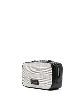 Bolso Karl Lagerfeld blanco K/Skuare Camera Bag Bw
