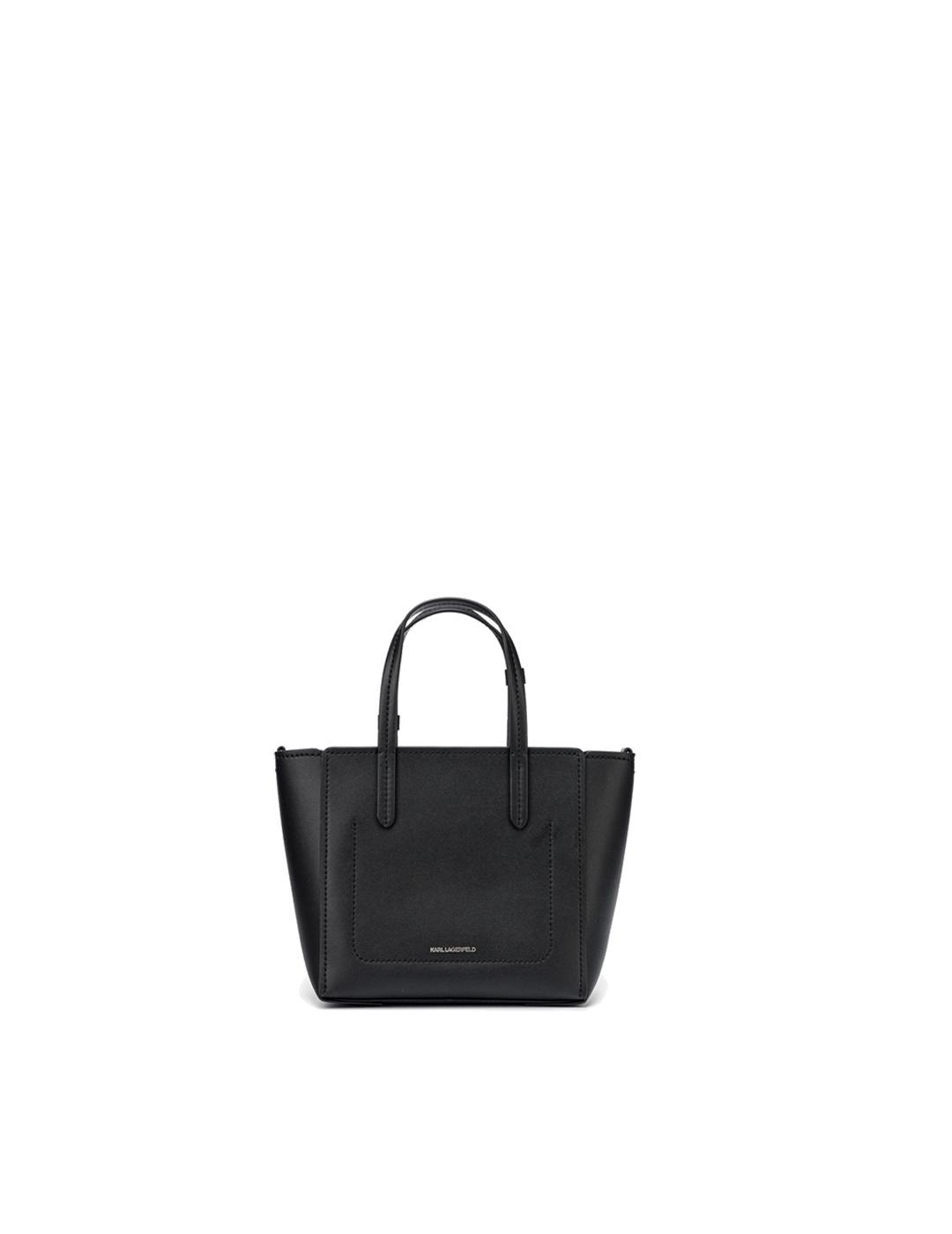 Bolso Karl Lagerfeld negro Tote Cyber Choupette