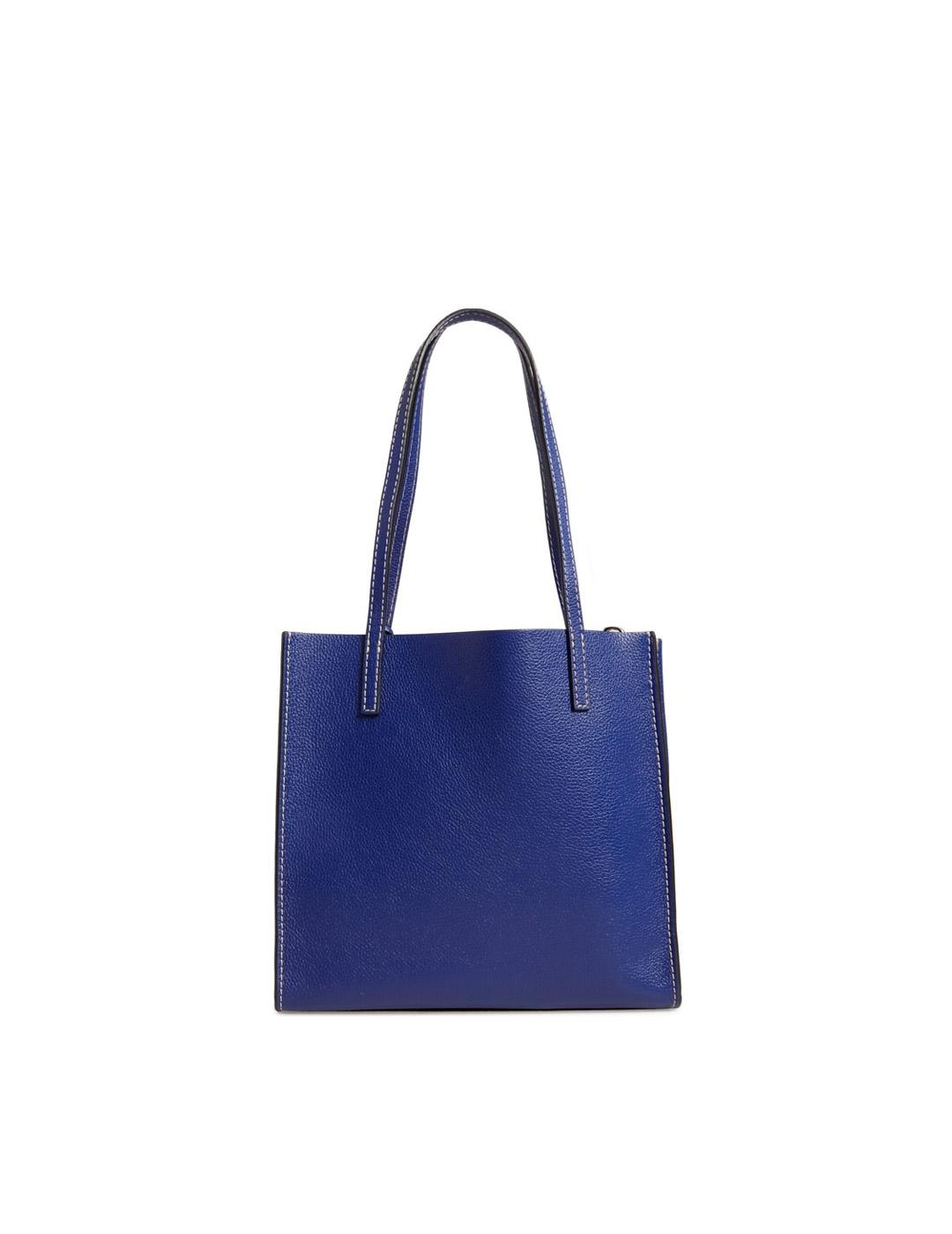 Bolso Marc Jacobs azul Medium Grind T Pocket