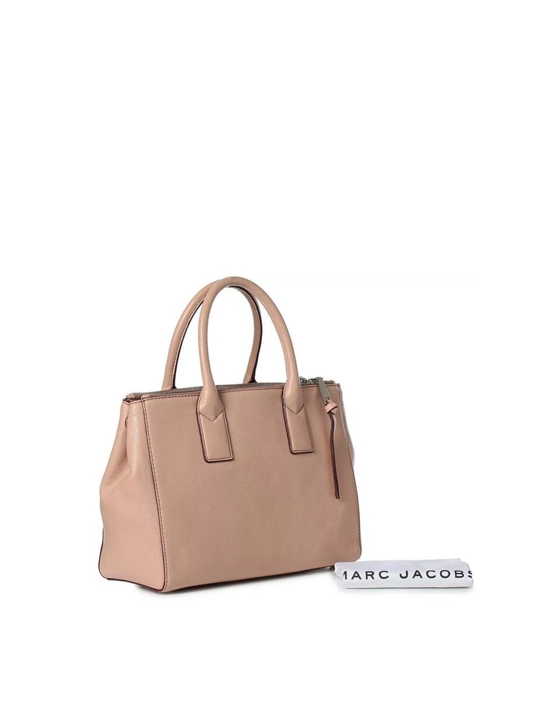 Bolso Marc Jacobs beige Recruit Tote Bag