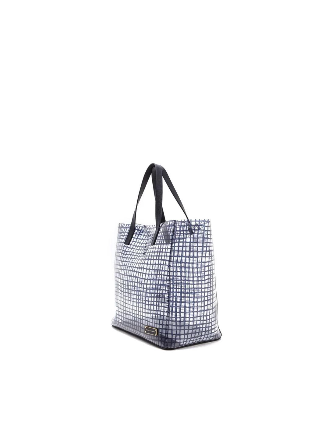 Bolso Marc by Marc Jacobs azul Checkmate Tote