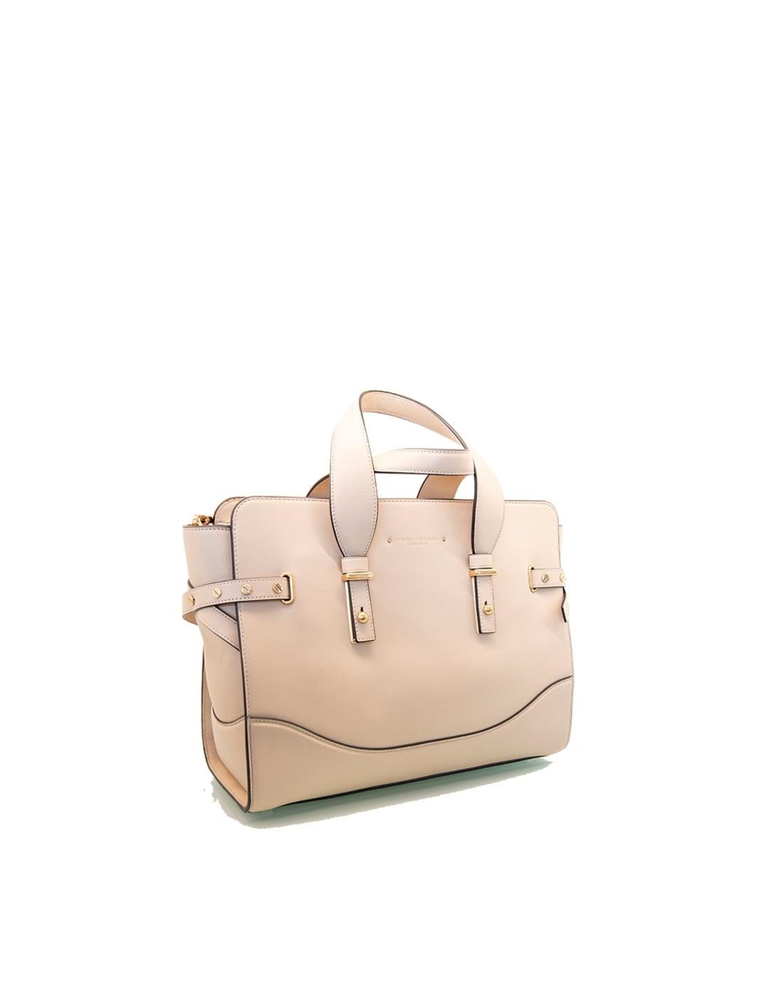 Bolso Marc Jacobs beige The Rivet Tote