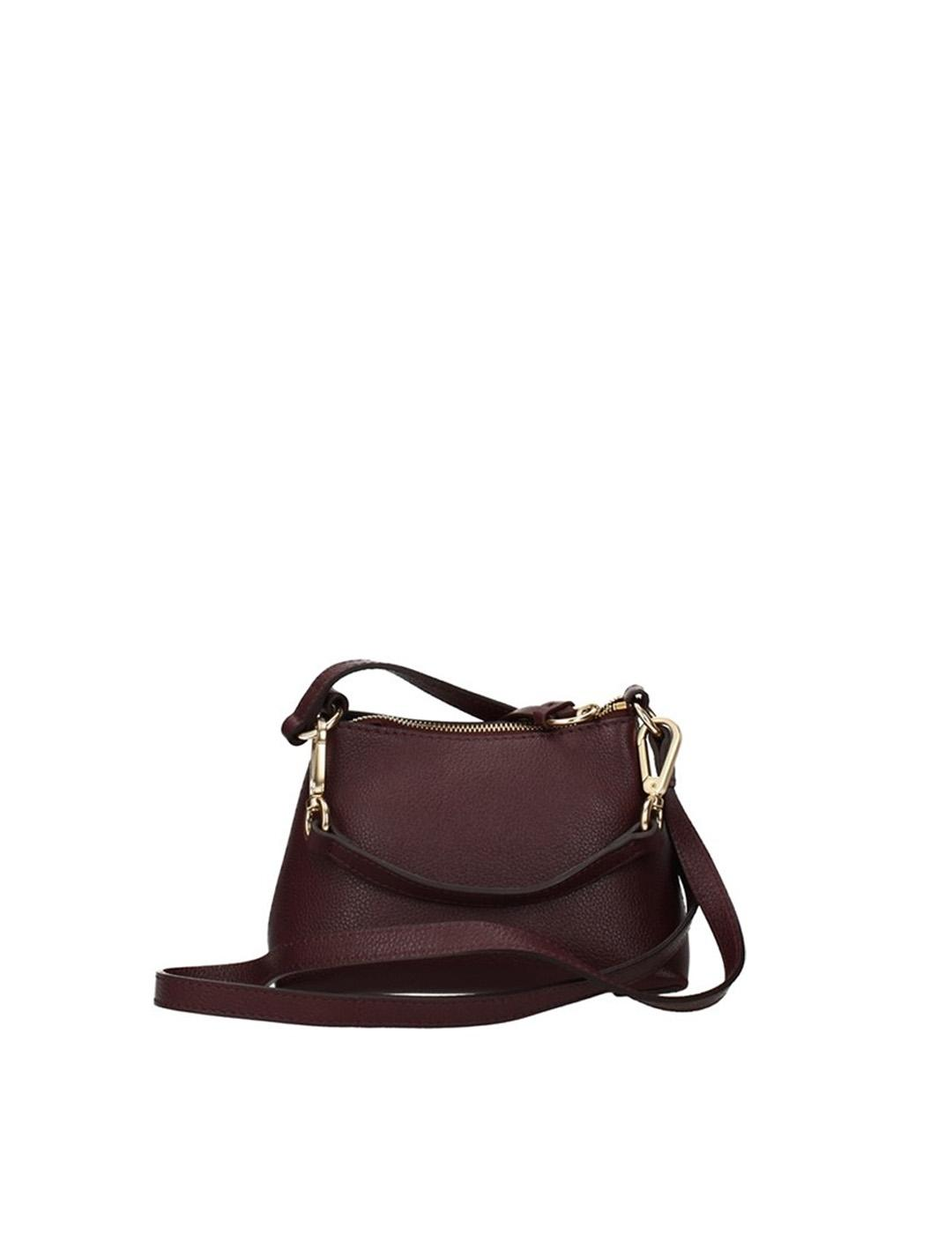 Bolso bandolera  See by Chloé burdeos Mini Joan