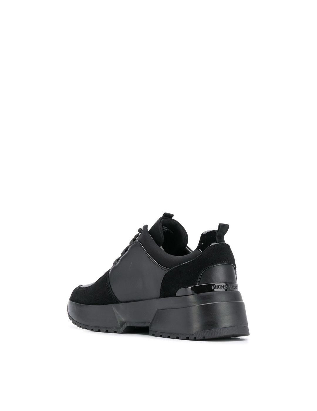 Sneakers Michael Kors negros Cosmo Trainer Leather