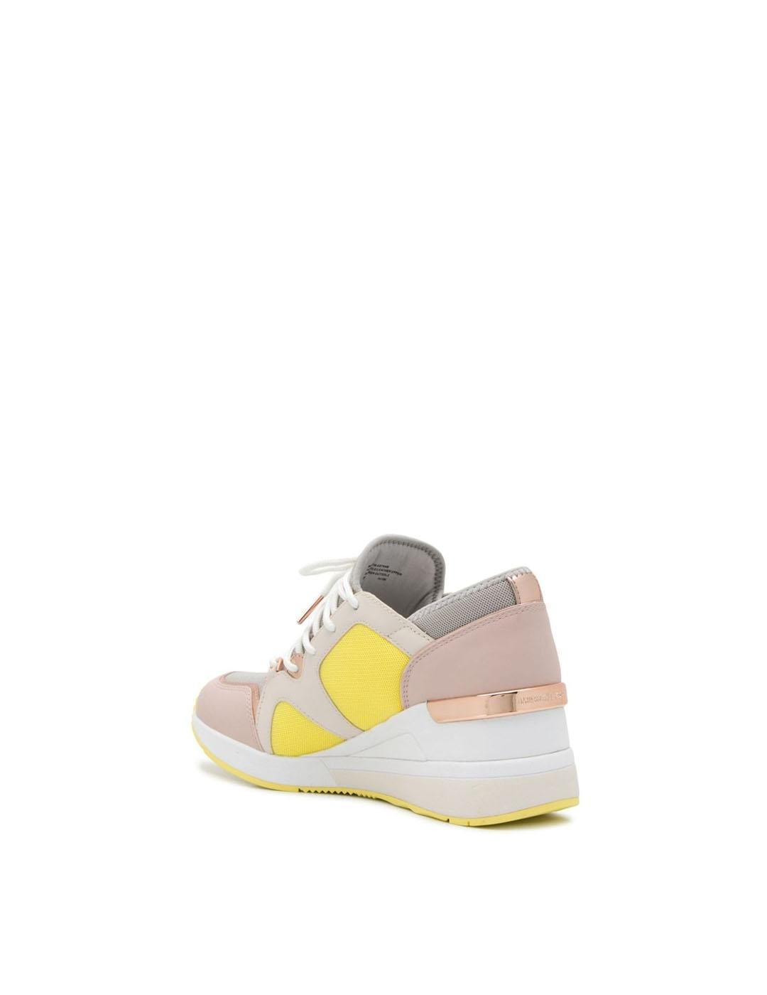 Sneakers Michael Kors rosa multicolor Liv Trainer Mesh