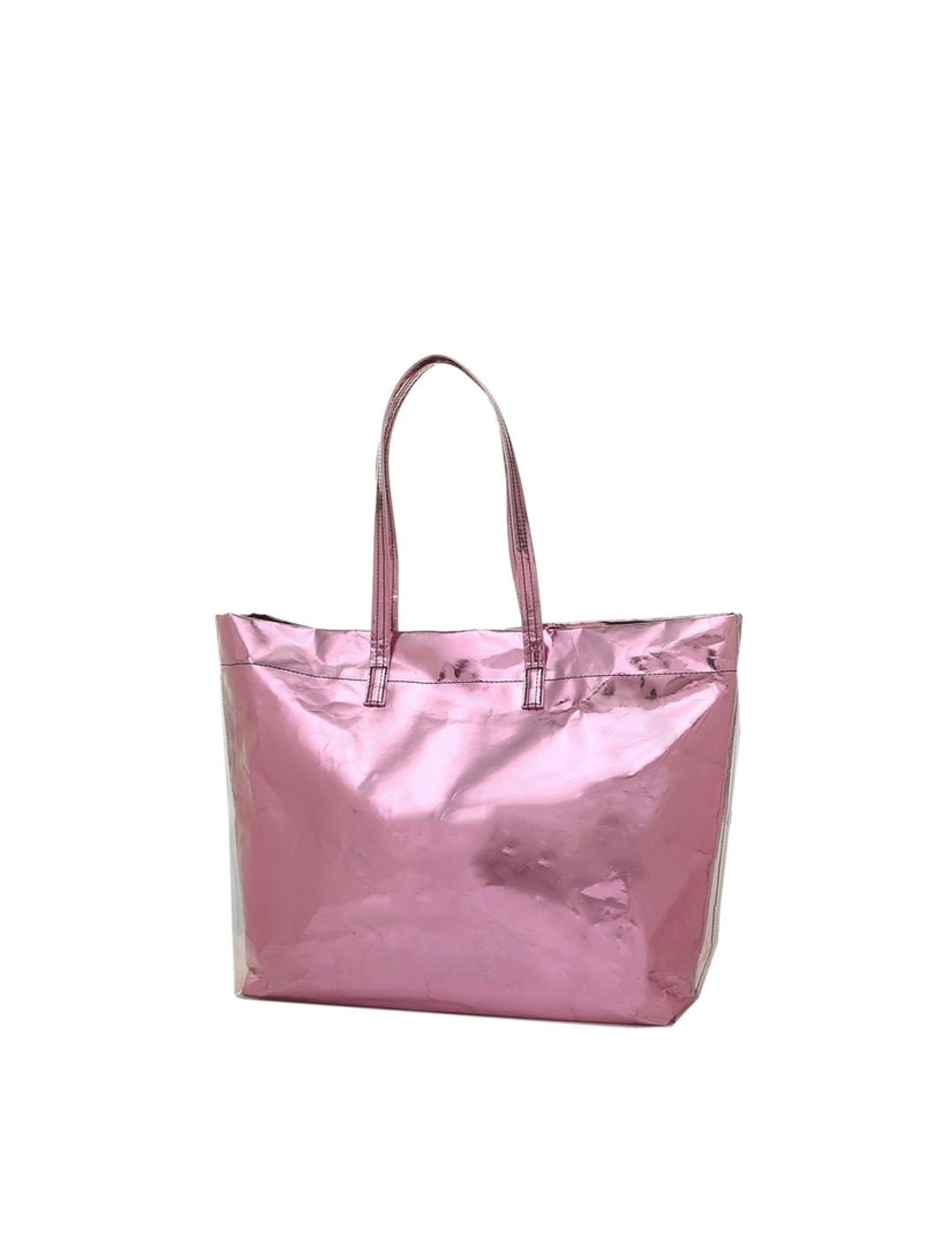 Bolso Marc Jacobs rosa The foil tote