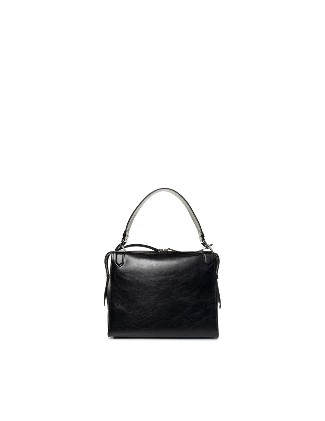 Bolso Karl Lagerfeld negro Slash Top Handle