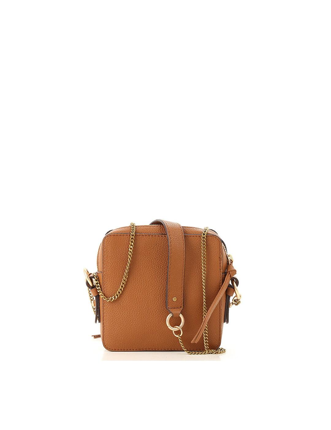 Bolso See by Chloé marró caramel Joan Sbc Shoulderbag